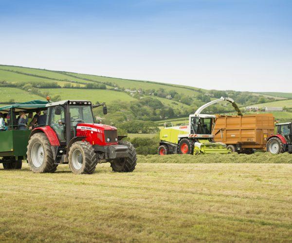 farm ride silage