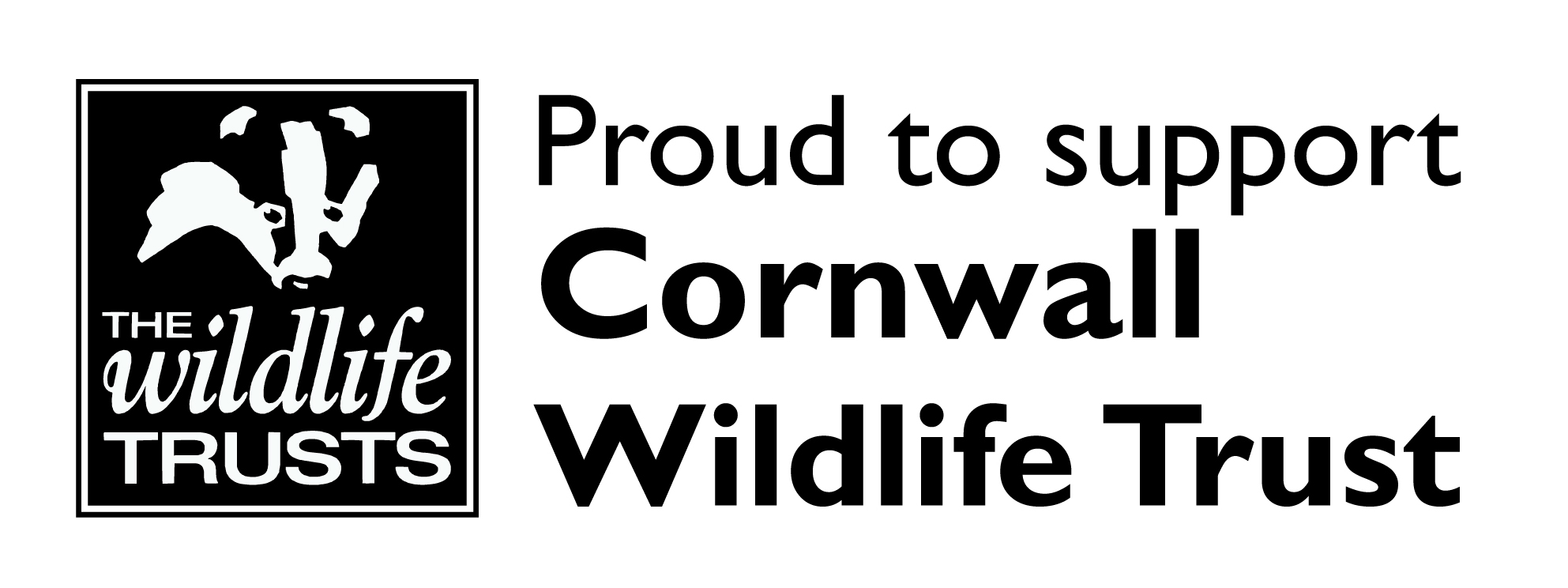 Cornwall Wildlife Trust Business Supporter logo left 2015