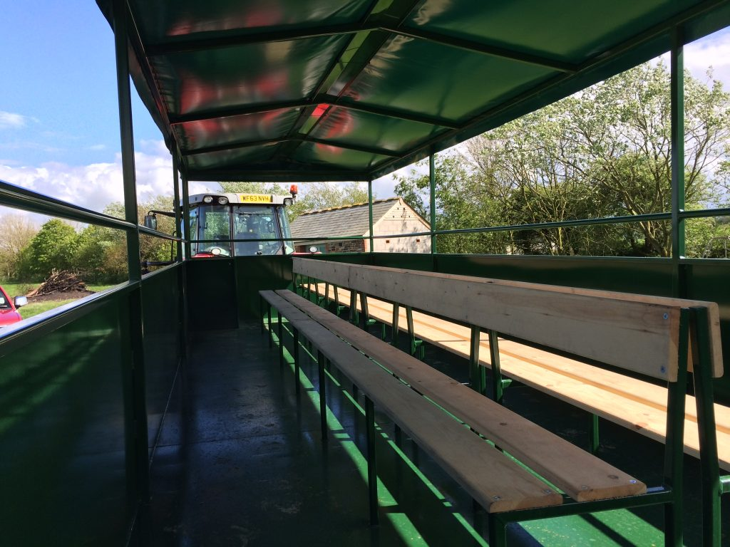Farm ride trailer 1