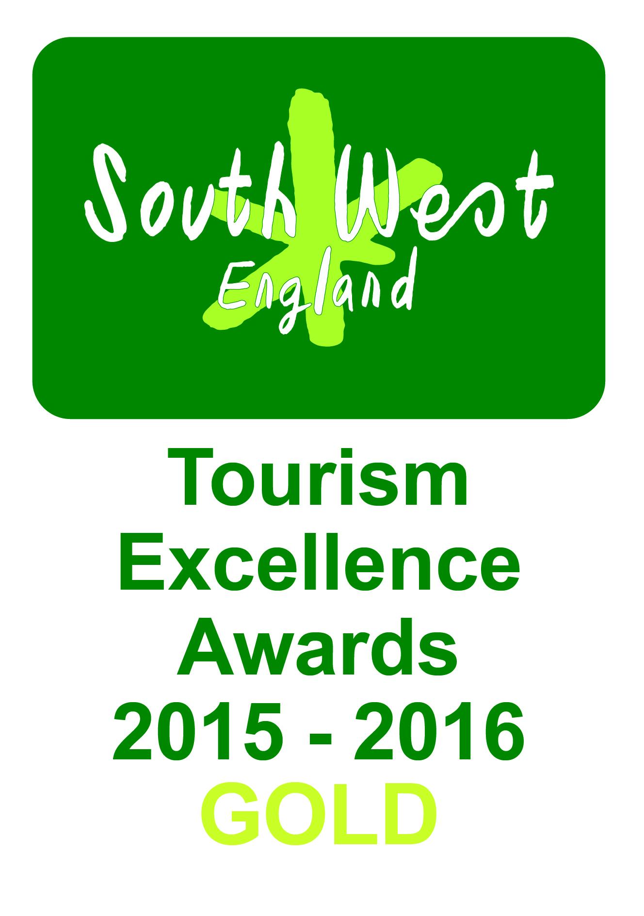 South West Tourism Gold Award